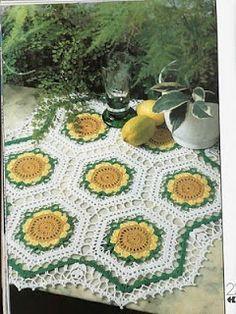 Receitas de Crochet: Alegria