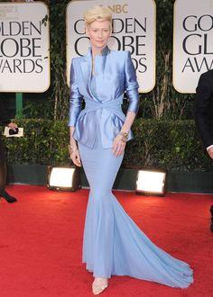 Tilda Swinton / 2012 Golden Globes