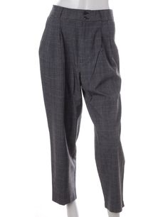 Smart Trousers Grey With Pockets