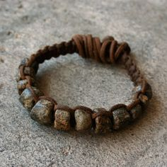 Bead Macrame Bracelet