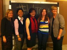 @Alison Loat @kristynwongtam @zengarden17 and @Shelley Carroll at #WiTOpoli's May 2012 Panel Series