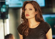 Angelina Jolie with other make up and hair color made by me
