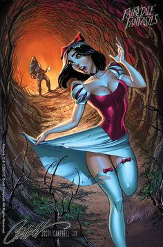 ✯ FairyTale Fantasies Snow White :: Artist J Scott Campbell & Colors by Artist Nei Ruffino ✯