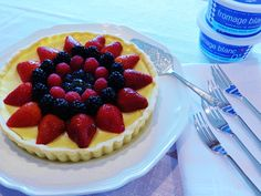 Fromage Blanc et Fruits Tarte