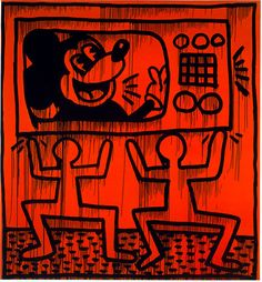 Untitled, 1982  Marker and Paint on Found Canvas  96 x 82 1/2 inches   244 x 210 cm