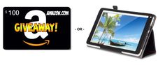 #Win an Amazon $100 Gift Card OR Android Tablet Giveaway! Enter the link, https://wn.nr/nB7Jxz