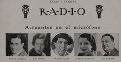 Aviso de la revista argentina CARAS Y CARETAS.