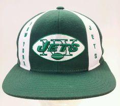 5be622d577ebdd Mitchell & Ness NEW YORK JETS SnapBack NFL Cap/Hat Vintage Collection | eBay
