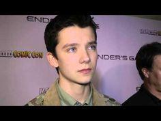 Asa Butterfield Interview - Ender's Game Q&A