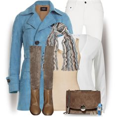 A fashion look from January 2015 featuring iHeart tops, Dsquared2 coats and Proenza Schouler jeans. Browse and shop related looks.