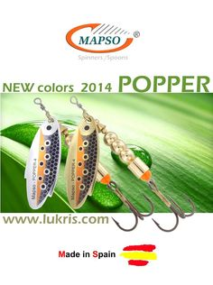 www.mapso.es Fishing Spinner & Spoons
