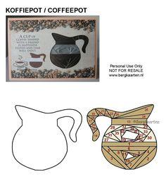Irisvouwen: Koffiepot / Coffeepot