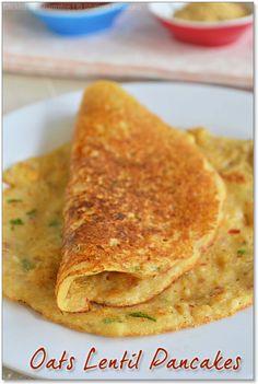 Breakfast Snacks, Breakfast Recipes, Breakfast Healthy, Oats Recipes Indian, Indian Snacks, Indian Breads, Healthy Indian Recipes, Oats Dosa, Baby Food Recipes