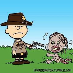 It's The Walking Dead, Charlie Brown... coming soon to AMC.