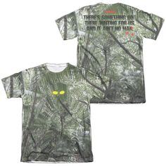 Predator - Yellow Eyes Adult All Over Print Poly-Cotton T-Shirt
