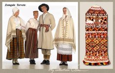 Zemgale Latvian costumes