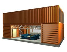 Storage container houses container foot shipping container home best shipping container home designs,buy shipping container c container house. Cargo Container Homes, Storage Container Homes, Building A Container Home, Container Cabin, Container Buildings, Container Architecture, Container House Design, 40ft Container, Kit Homes