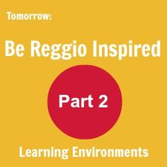 Welcome to the first of the series Reggio-Inspired Preschool Environments .    Over the next week we will have a little wander through...