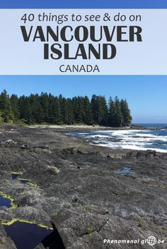 The best things to see and do on Vancouver Island: visit Victoria, explore Tofino & hike one of the many trails on this beautiful island in British Columbia! In this post you'll find: All the Vancouver Island must-sees and highlights. Where to eat o Vancouver Island, Whistler, Tonga, Quebec, Montreal, Ontario, Canada Winter, Canada Vancouver, Vancouver Skyline