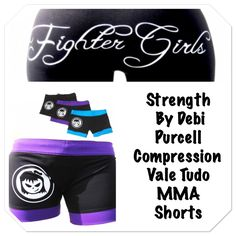 Check out our product of the week! Strength by Debi Purcell MMA shorts. Shop fightergirls.com. The 1st & original in women's MMA. Best quality & dedicated to the female warrior.  Http://www.fightergirls.com/shop.  #fightergirls #wmma #womensmma #capris #leggings #fightwear #sportswear #training #crosstrain #BodyCombat #grappling #kickboxing #jiujitsu #gym #circuttraining