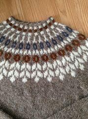 Notes from Hulda Hakonardottir, Marketing Manager at Istex: Icelandic Sweaters, Fair Isle Knitting Patterns, Knitted Bags, Knitting Projects, Knitting Tutorials, Baby Knitting, Vintage Knitting, Free Knitting, Pulls