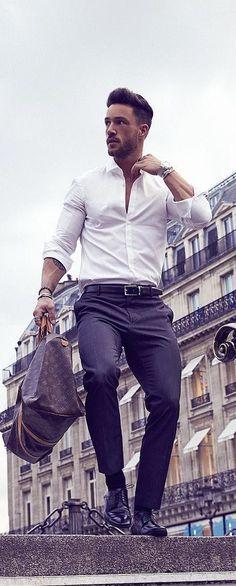Men's Preppy Style- belts