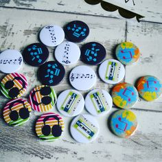 Our music badges are great for clubs & schools