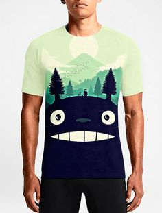 fa78db6dec7620 Totoro   Guys TeesMust Have Mens Printed Custom T shirts Must Have Mens  Awesome T shirts OSOM WEAR Abstract Anime Art Comics Fantasy Gaming Horror  ...