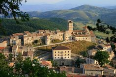 Castel del Monte, province of L'Aquila, region of Abruzzi, ITaly