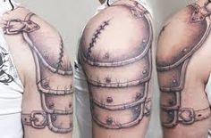 Resultado de imagen de shoulder armour tattoo