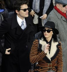 Katy Perry and John Mayer took their love to DC for the Inauguration on Jan. 21. See more photos on Wonderwall: http://on-msn.com/W9Vvl1