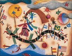 """""""Drago"""" (1927) by Xul Solar"""