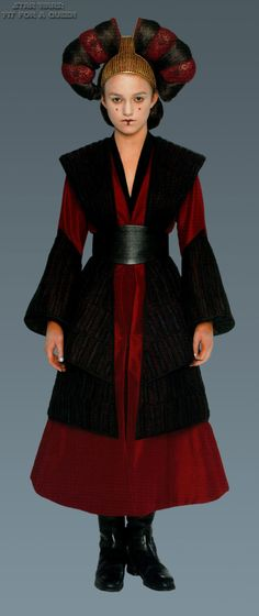 Amidala - 1er Version - Idée.
