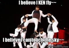 Sometimes I feel bad for Ken... it's like he's the one who's always getting picked on in the choreography.