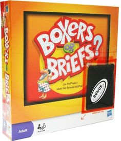 Boxers or Briefs? Game Popular Party Game Adult - http://www.amazon.com/dp/B00DD5HLDS/ref=cm_sw_r_pi_dp_kDmTsb0YGBYPQMSF