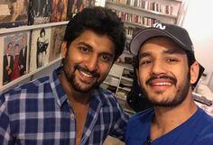 Viral Pic: Akhil's Selfie With Nani