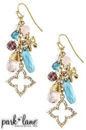 Garden Party Pierced Earrings | Park Lane Jewelry contact jm@wholehealthglobal.com for more info!