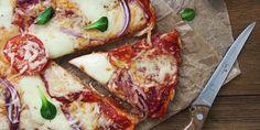 Jednoduchá domáca pizza - Recept na pizzu - Lenivá Kuchárka