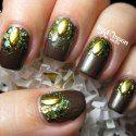 http://lightofthemoonnails.blogspot.com/2014/05/got-maybelline-downtown-brown.html #prom nail art