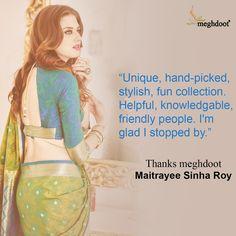 #customertestimonials #sarees #fashion #style Customer Feedback, Sarees, Stylish, Fun, Fashion, Moda, Fashion Styles, Fashion Illustrations, Hilarious
