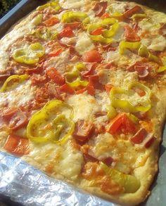 Cookbook Recipes, Diet Recipes, Cooking Recipes, Greek Recipes, Hawaiian Pizza, Food, Kitchen, Cooking, Chef Recipes