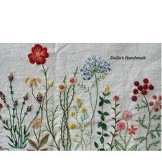 Wonderful Ribbon Embroidery Flowers by Hand Ideas. Enchanting Ribbon Embroidery Flowers by Hand Ideas. Hardanger Embroidery, Learn Embroidery, Hand Embroidery Stitches, Silk Ribbon Embroidery, Embroidery Techniques, Floral Embroidery, Cross Stitch Embroidery, Embroidery Patterns, Machine Embroidery