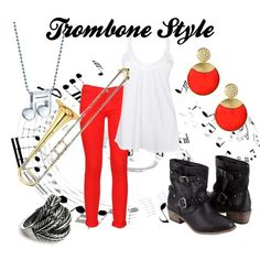 """""""Trombone Style"""" by wolfe30 on Polyvore"""