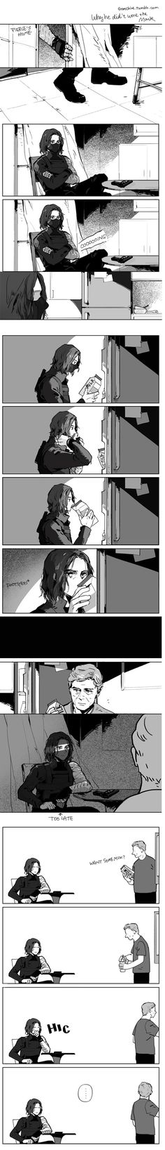 ...This still made me sad...because Bucky is so cute...