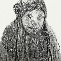 Photographer Christoffer Relander,Born in 1986 in Razeborg. Photographs from The most interesting part of his portfolio is a series of black and white photos with a double exposure. Photos from the Double Exposure Photos) Artistic Photography, Creative Photography, Portrait Photography, School Photography, Contemporary Photography, Camera Photography, Digital Photography, Contemporary Art, Portraits En Double Exposition