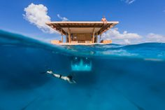 Zanzibar's underwater hotel room | Manta Underwater Room, Pemba (Condé Nast Traveller)