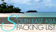 Southeast Asia Packing List for Women: Thailand in 2.5 weeks! Eeeek!