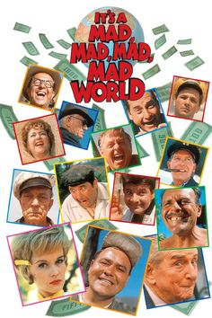 It's a Mad Mad Mad Mad World!!!!!!  EVERY big star was in this madcap hysterically funny movie  the laughs never stop!
