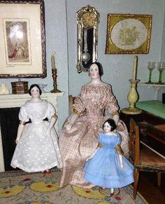 british antique dolls house - Google Search
