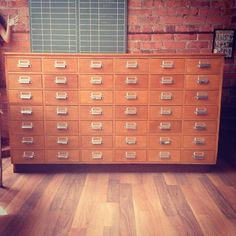 Magnificent 42 drawer cabinet - The General Store
